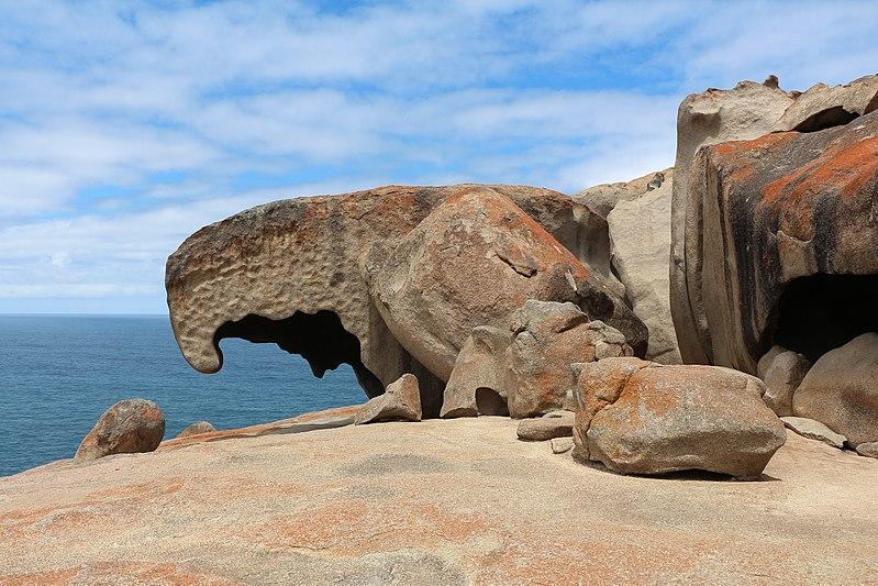 West Kangaroo Island Attractions Remakable rocks