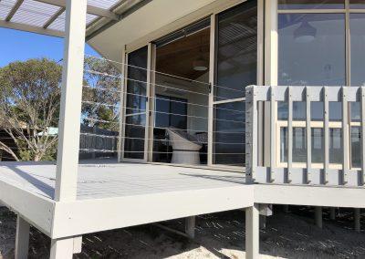 White Sands Island Beach Deck