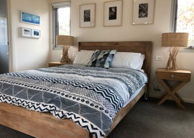 White Shells Nepean Bay Bedroom