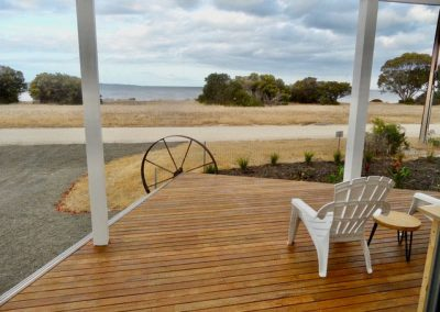 White Shells Nepean Bay deck